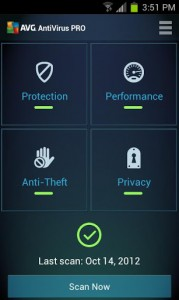 Mobile AntiVirus Security PRO 3