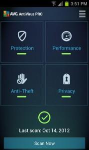 Mobile AntiVirus Security PRO 3