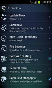 Mobile AntiVirus Security PRO 5