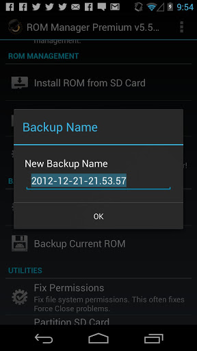 ROM Manager (Premium) v5.5.2.1