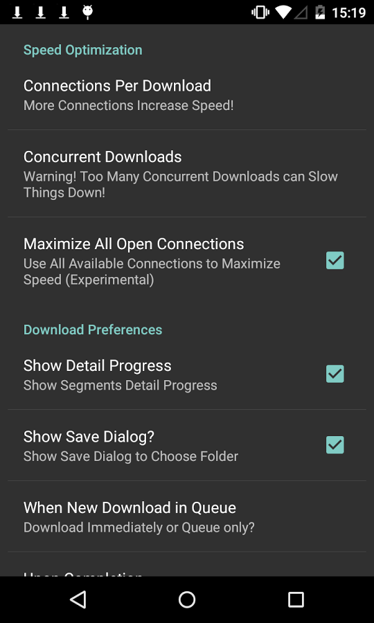 Turbo Download Manager v4.40
