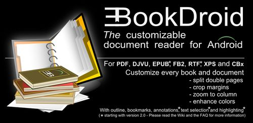 EBookDroid – PDF & DJVU Reader v2.6.3
