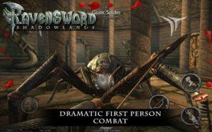 تصویر محیط Ravensword: Shadowlands 3d RPG v20 + data
