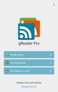 تصویر محیط gReader | Feedly | News | RSS v5.2.2-424
