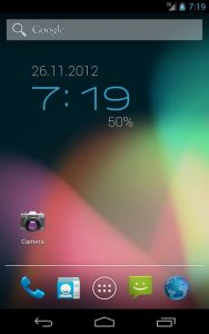 تصویر محیط ClockQ – Digital Clock Widget v3.2.1