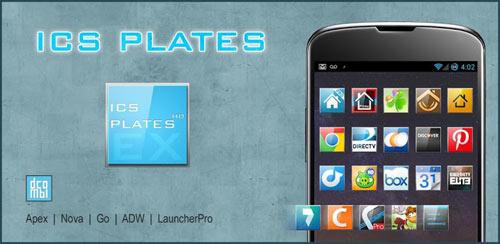 ADW APEX GO – ICS Plates Theme v3