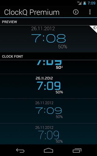 ClockQ – Digital Clock Widget v3.0.6