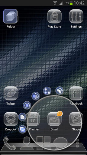 Next Launcher Glass Theme v1.01