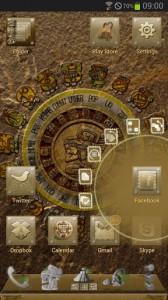 Next Launcher Mayan  2