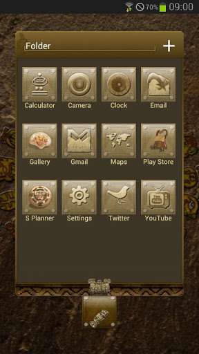 Next Launcher Mayan Theme 1.01