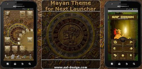 Next Launcher Mayan