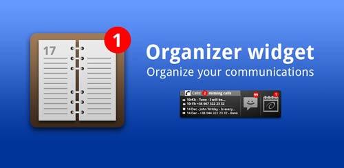 Organizer Widget v2.0