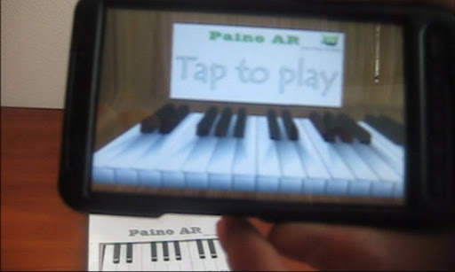 Piano AR (Augmented reality) v1.0