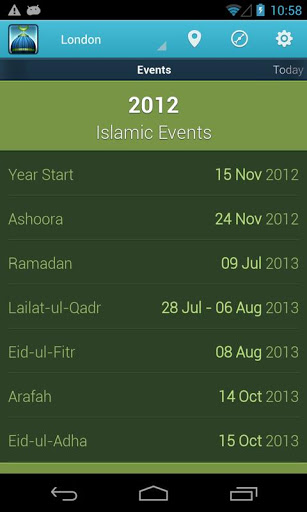 iPray: Prayer Times & Qibla v1.1.4