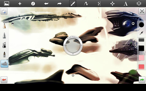 SketchBook Pro for Tablets v2.6