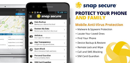Snap Secure + Mobile Antivirus v8.03