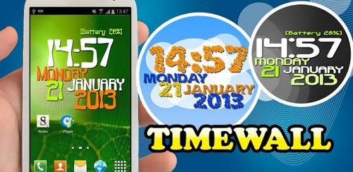 Timewall – Clock Wallpaper v1.2.0