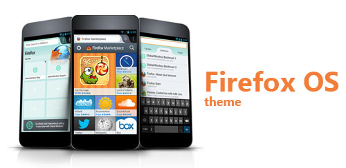 Firefox Os Next Launcher Theme v1.0