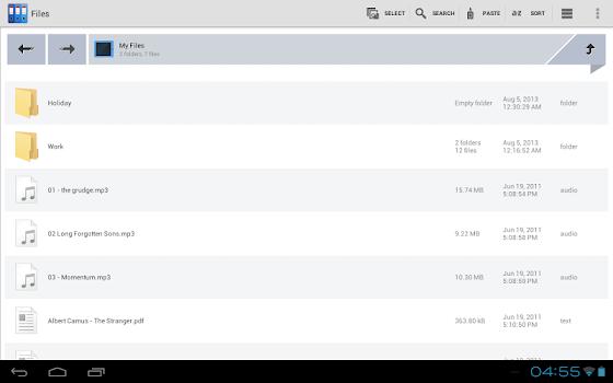 Zenfield File Manager v1.6