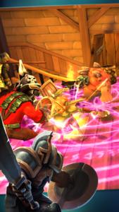 تصویر محیط Heroes of Destiny: Fantasy RPG, raids every week v2.3.7