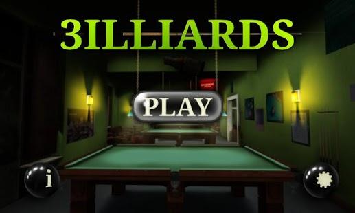 3D Pool game – 3ILLIARDS v2.93