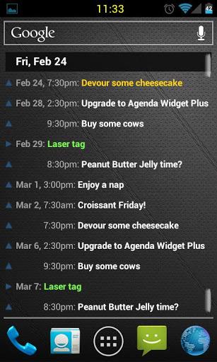 Agenda Widget Plus v2.1.24