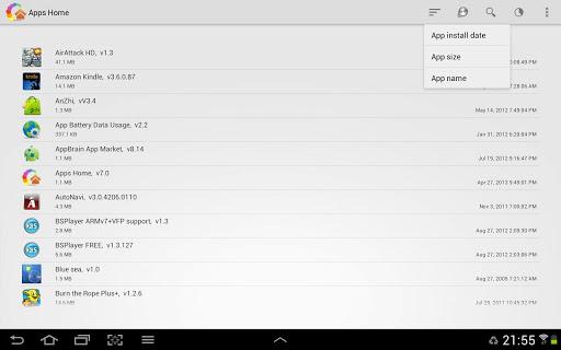 Apps Home v7.0