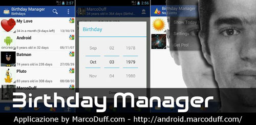 Birthday Manager v3.0