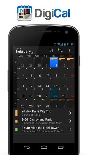 DigiCal Calendar & Widgets (Unlocked) v0.8.1