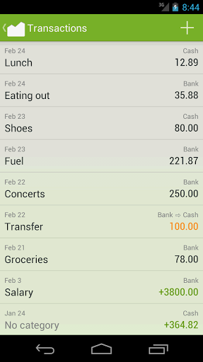 Financius – Expense Manager v 0.5