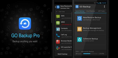 GO Backup Pro Premium v3.41 build 31