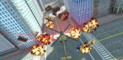 GTA Apache vs Tank in New York v1.1
