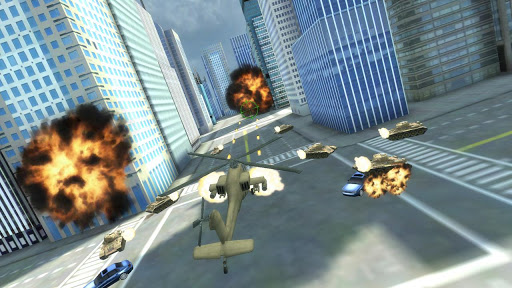 GTA Apache vs Tank in New York v1.1