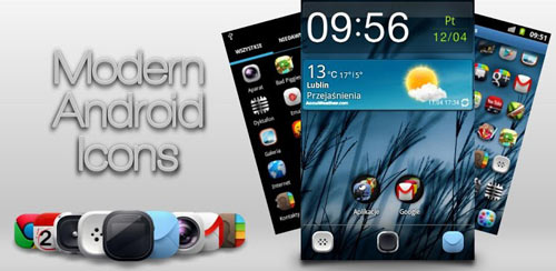 Modern Android Icon Pack v1.0