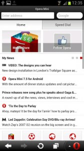 Opera Mini web browser2