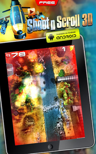 Shoot'n'Scroll 3D free arcade v2.0
