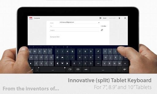 Thumb Keyboard (Phone/Tablet) v4.6.3.00.150