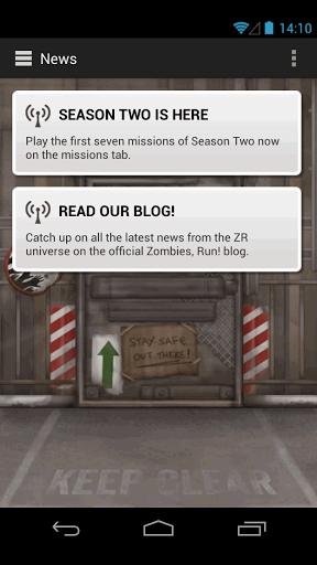 Zombies, Run! v2.0 + data