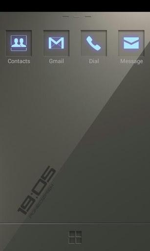 neonee GO Launcher EX Theme v1.0