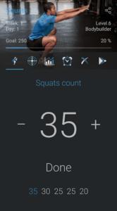 تصویر محیط 500 Squats – Strong Leg Workout v2.8.5