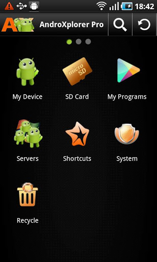 AndroXplorer Pro File Manager v4.6.2.9