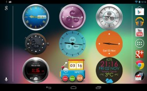 Beautiful Clock Widget Pro 5