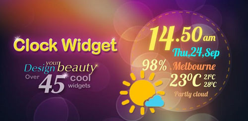 Beautiful Clock Widget Pro v2.0