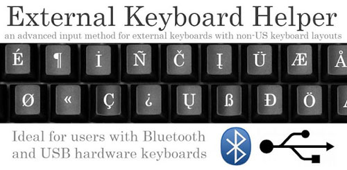 External Keyboard Helper
