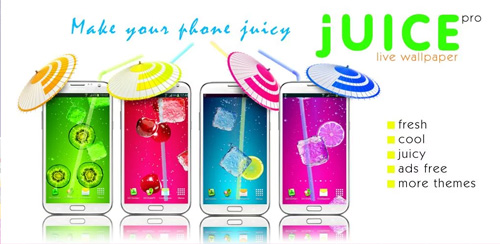 Juice PRO live wallpaper v3.6