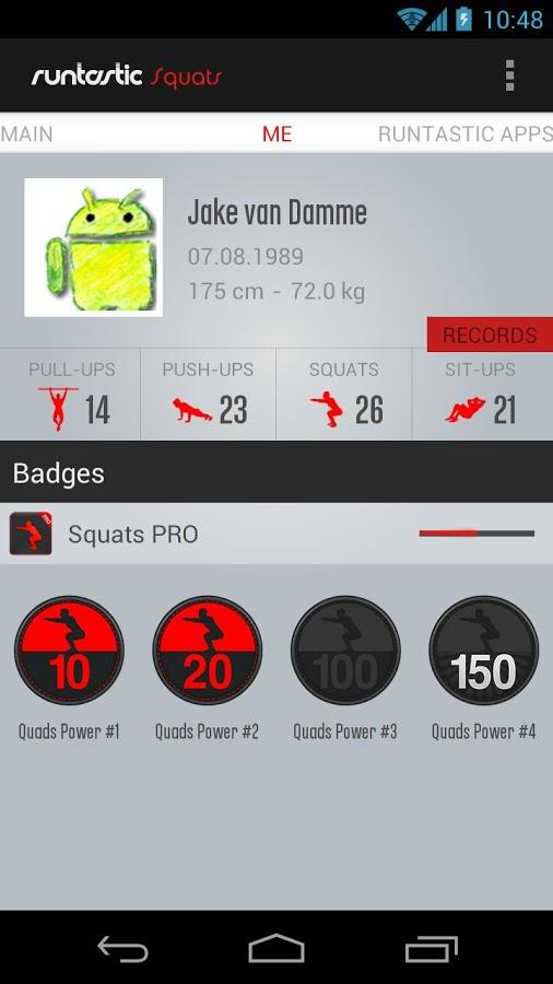Runtastic Squats PRO Trainer v1.7