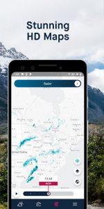 تصویر محیط WeatherPro: Forecast, Radar & Widgets v5.6.1