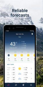 تصویر محیط WeatherPro: Forecast, Radar & Widgets v5.4.3