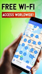 تصویر محیط Free WiFi App: passwords, hotspots v7.07.04