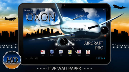 Aircraft Pro Live Wallpapers v1.0